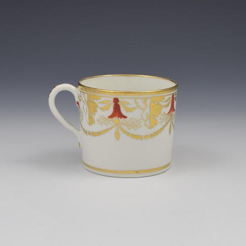 Georgian Coalport Porcelain Coffee Can c.1805 Pattern 724 (1 of 6)