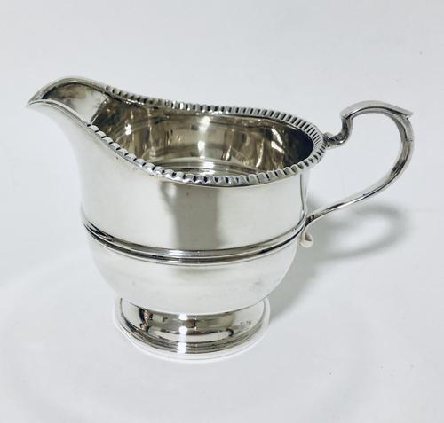 Antique Solid Silver Milk Cream Jug (1 of 8)