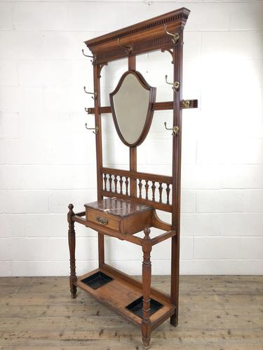 Antique Mahogany Hall Stand (1 of 10)