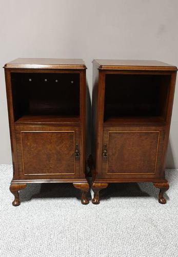 Pair of Queen Anne Bedside Cabinets (1 of 7)