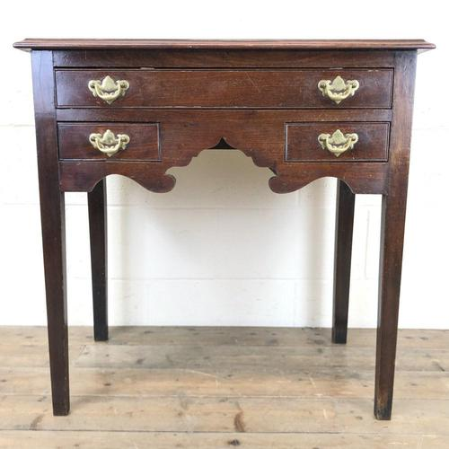 Antique English Mahogany Side Table (1 of 9)