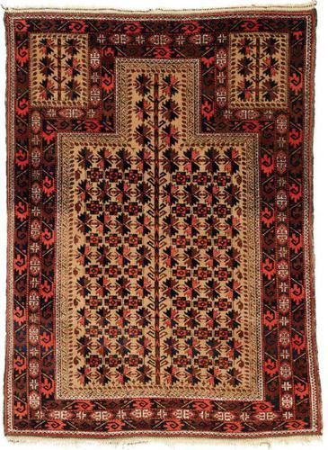 Antique Baluch Prayer Rug (1 of 4)