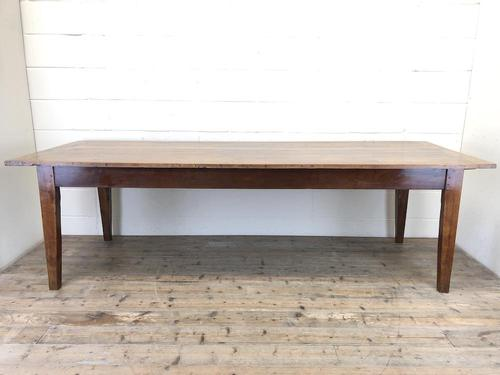 Large Antique French Fruitwood Farmhouse Table (1 of 19)