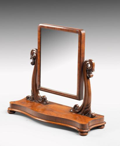 Good Late 19th Century Mahogany Dressing Mirror (1 of 5)