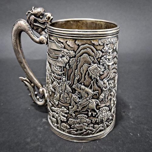 Khe Cheong Silver Mug (1 of 7)