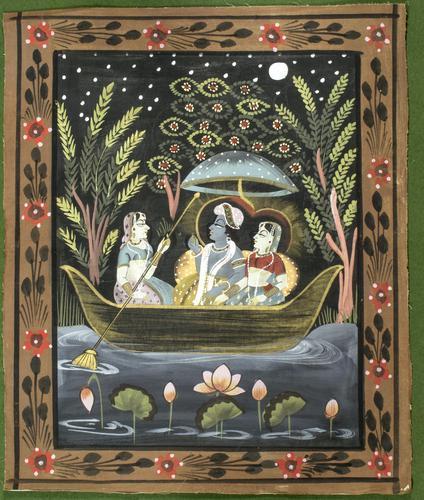 Pichwai Painting Of Krishna And Radha (1 of 1)