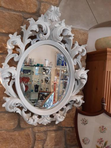Large French Rococo Mirror (1 of 4)