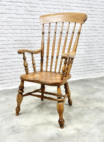 Large 'Grandfather' Windsor Armchair (1 of 7)