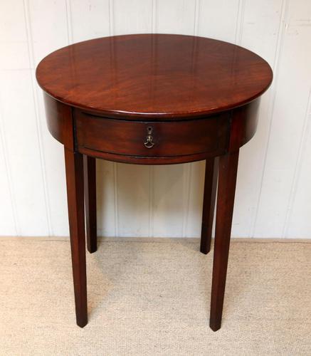 Early 19th Century Mahogany Side Table c.1820 (1 of 10)