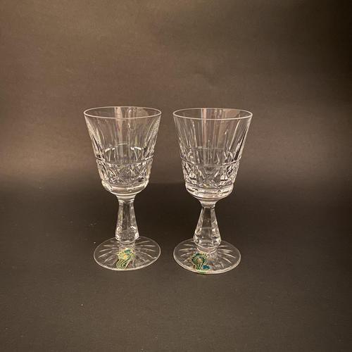 Pair of Waterford 'Kylemore' Port Glasses (1 of 2)