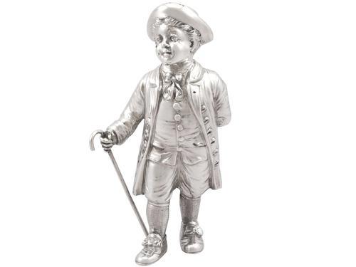 German Silver Pepperette - Antique c.1900 (1 of 9)