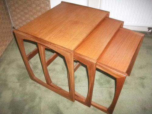 Nest of 3 G Plan Tables (1 of 2)