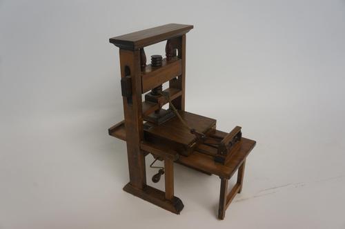 Model 15th Century Gutenberg Press (1 of 4)