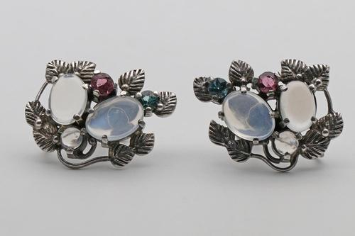 Arts & Crafts Edith Linnell Earrings (1 of 4)