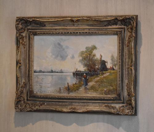 Oil Painting by Alfred Sanderson Edward RBA (1 of 9)