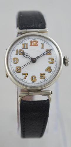 1917 Silver Trench Watch (1 of 5)