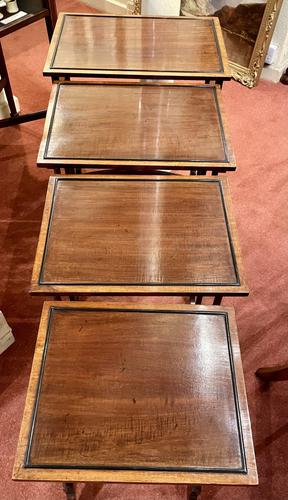 Lovely Edwardian Nest of Quartetto Tables (1 of 6)