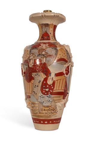Satsuma Vase Lamp (1 of 6)