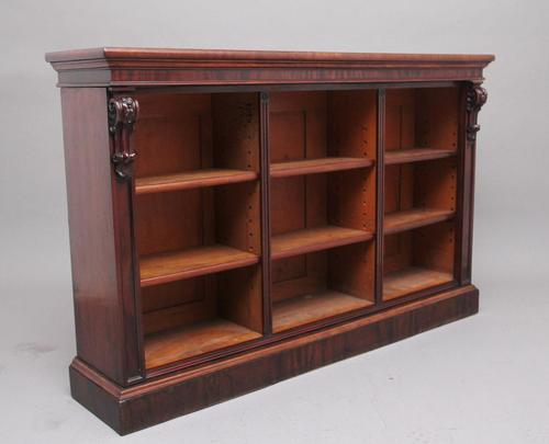 Early 19th Century Open Bookcase (1 of 9)