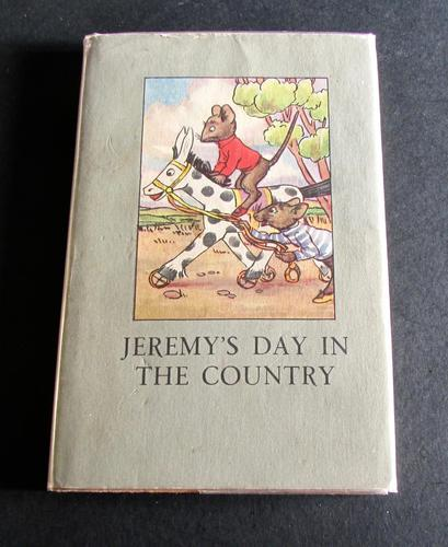 1949 Ladybird Book  Jeremy's Day In The Country by A. J. MacGregor with Dust Jacket (1 of 5)