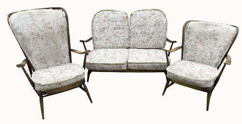 Ercol Three Piece Suite (1 of 9)