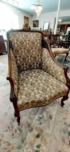 Mahogany Bedroom Armchair (1 of 6)
