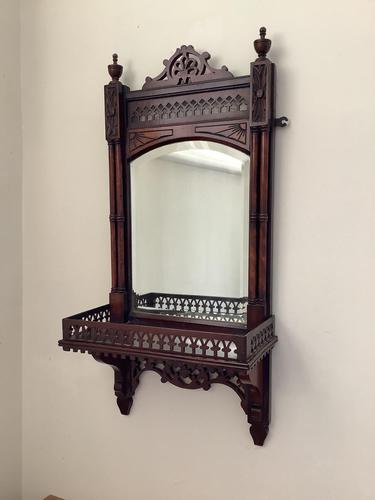 Victorian Hall Hanging Vanity Mirror (1 of 3)