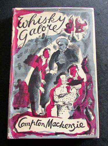 1947 1st Edition Whisky Galore by Compton Mackenzie with Original Dust Jacket (1 of 4)