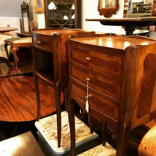 Nice Pair of French Bedside Cabinet (1 of 7)