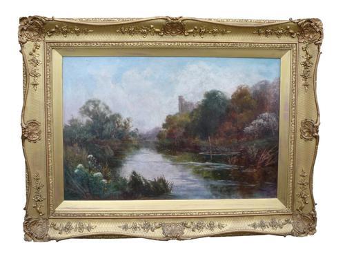 Arundel, West Sussex Oil Painting by John Horace Hooper (1 of 2)