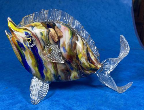 20th Century Italian Murano Glass Fish (1 of 9)