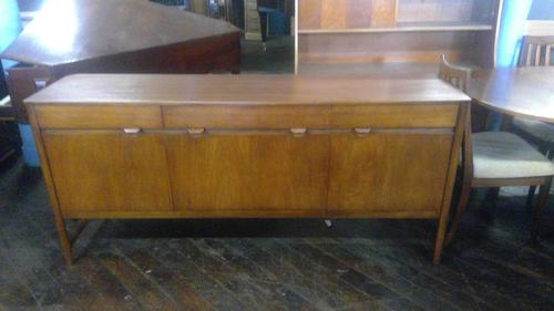 Teak Swedish Designer Credenza (1 of 3)
