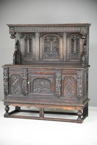 Early 17th Century & Later Livery Cupboard (1 of 12)