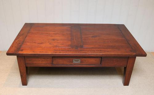 French Solid Oak Low / Coffee Table (1 of 11)