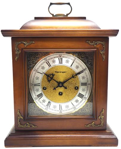 Fine Kieninger Mantel Clock 8 Day Westminster Chime Mantle Clock (1 of 11)