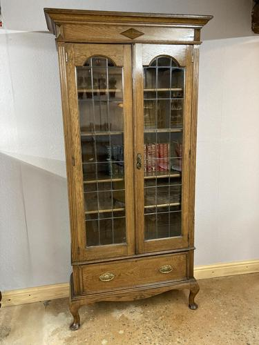 Edwardian Tall Bookcase (1 of 14)