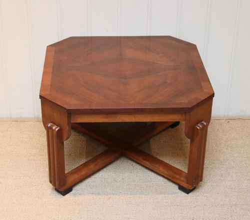 Low Walnut Art Deco Table (1 of 12)