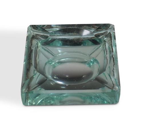 Deco Glass Ashtray (1 of 4)