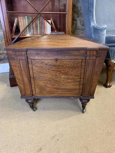 George Third Mahogany Cellarette in the Manner of Gillows (1 of 8)