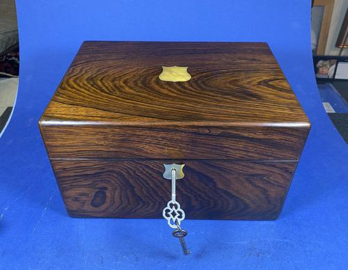 Victorian Rosewood Jewellery Box (1 of 17)