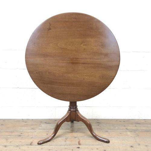 George III Mahogany Snap Top Table (m-2217) (1 of 10)