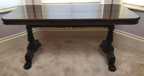 Regency Rosewood Library Centre Table in the Manner of Gillows (1 of 5)