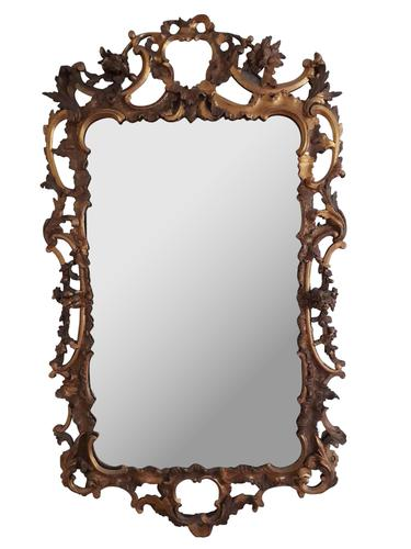 Wood Carved Mirror (1 of 1)