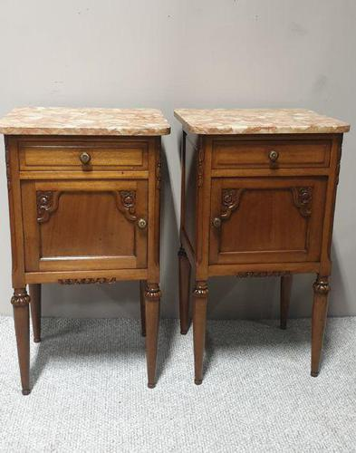 Pair of Oversized French Bedside Cabinets (1 of 8)