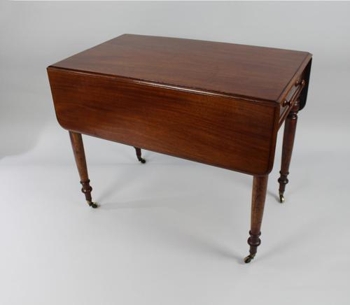 English Mahogany Pembroke Table (1 of 9)
