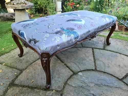 Large Louis XV Style Centre Stool c1880 (1 of 8)