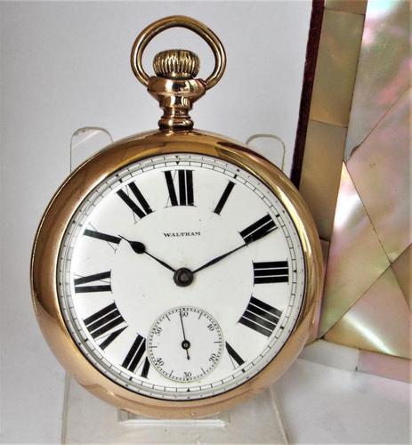 Large antique 1887 Waltham pocket watch. (1 of 4)
