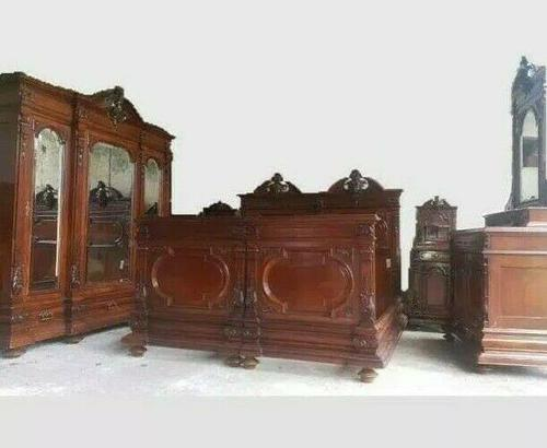 Italian Neo Renaissance Bedroom Set (1 of 9)