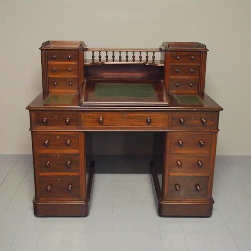 Victorian Mahogany Dickens Desk (1 of 12)