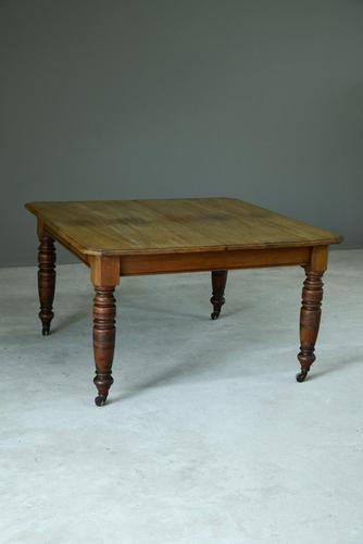Mahogany Square Dining Table (1 of 12)